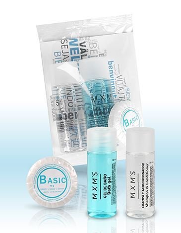 SET BOTELLAS 20ML (GEL, CHAMPU) Y PASTILLA JABON 10GR