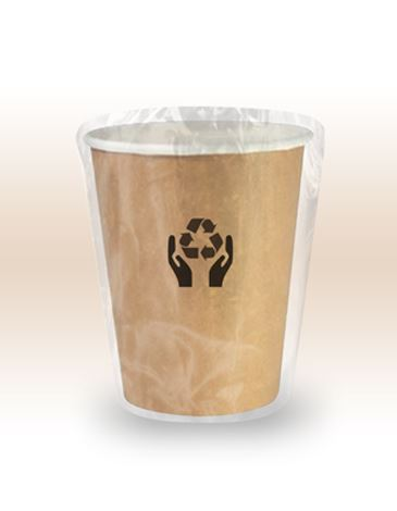 VASO 100% BIODEGRADABLE ENVASADO INDIVIDUALMENTE  290 ml.